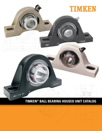Timken Ball Housed Unit Catalog