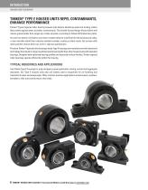 Timken Ball Housed Unit Catalog - 8