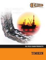Timken Drives Oil Field Chain Catalog - 1
