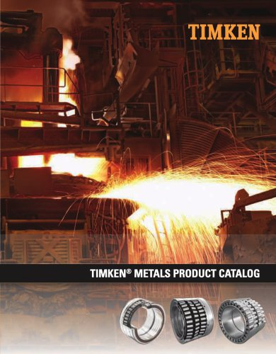 Timken Metals Product Catalog
