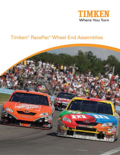 Timken® RacePac® Wheel End Assemblies