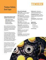 Timken Safety End Caps - 1