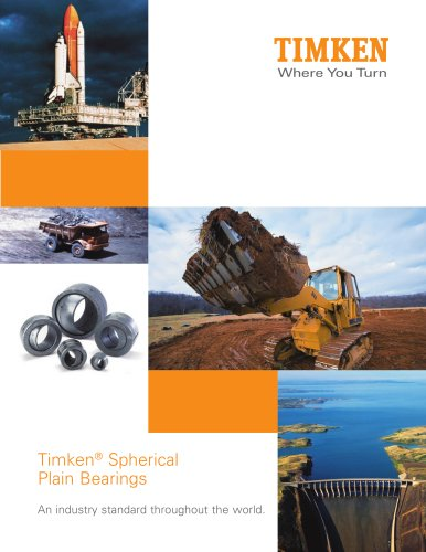 Timken® Spherical Plain Bearings