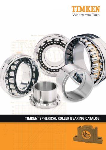 Timken Spherical Roller Bearing Catalog