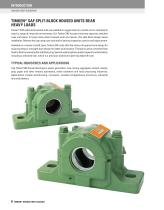 Timken Spherical Roller Bearing Solid-block Housed Unit Catalog - 10