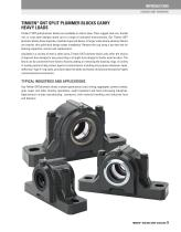 Timken Spherical Roller Bearing Solid-block Housed Unit Catalog - 11