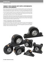 Timken Spherical Roller Bearing Solid-block Housed Unit Catalog - 8