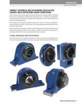 Timken Spherical Roller Bearing Solid-block Housed Unit Catalog - 9