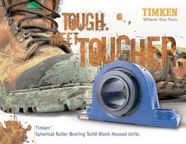Timken SRB Solid-Block Housed Unit Brochure - 1