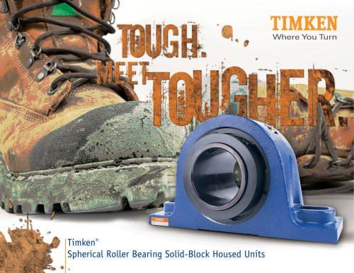 Timken SRB Solid-Block Housed Unit Brochure