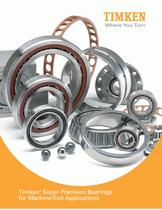 Timken® Super Precision Bearings for Machine Tool Applications - 1