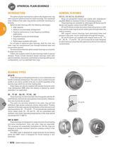Timken Thrust & Plain Bearings - 5