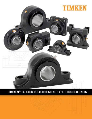 Timken Type E Housed Unit