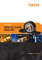 Timken UC Series Ball Housed Unit Catalog - 1
