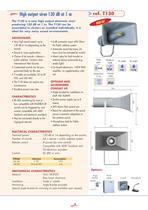 Disaster warning systems - Emergency signalling - 4