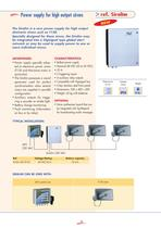 Disaster warning systems - Emergency signalling - 5