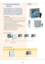 Disaster warning systems - Emergency signalling - 6