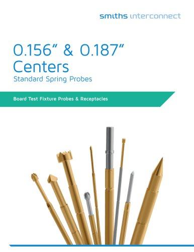 "0.156"" & 0.187"" Centers"