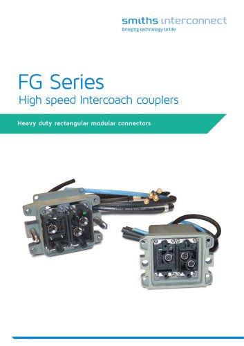 FG Series High speed Intercoach couplers