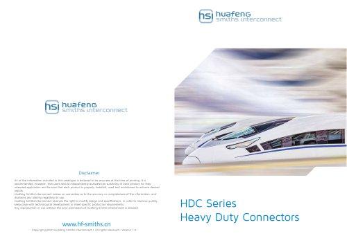 HDC Heavy Duty Connectors