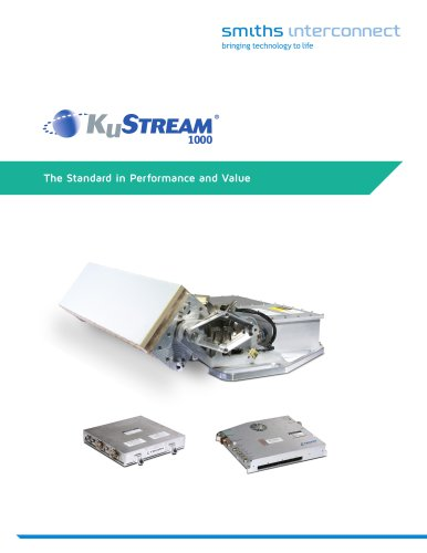 KuStream® 1000 ANTENNA SYSTEM