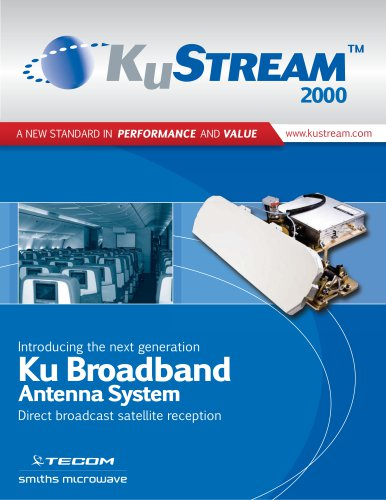 KuStream 2000 Antenna System