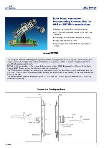 Rack Panel connector