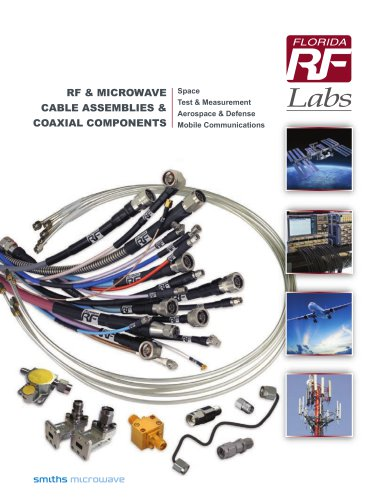 RF Microwave Cable Assemblies Coaxial Components