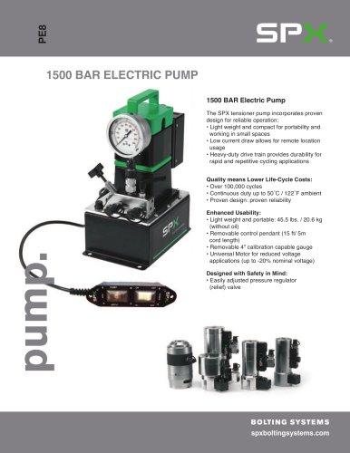 1500 BAR Tensioner Pump