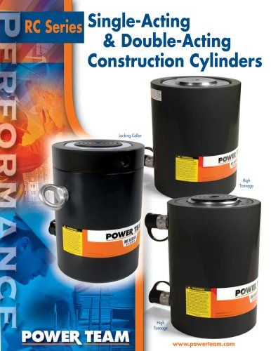 Construction Cylinders