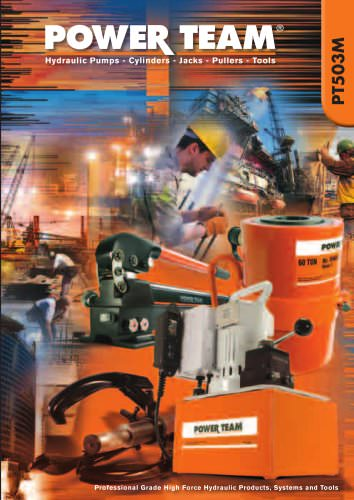 Professional Grade High Force Hydraulic Products, Systems and Tools