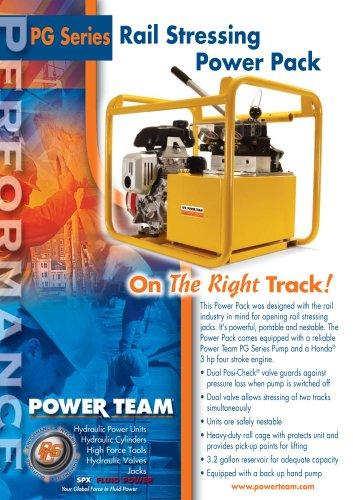 Rail Stressing Power Pack