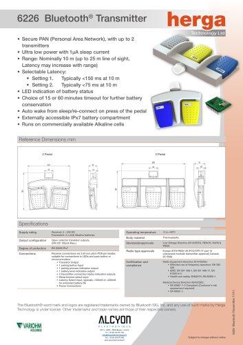 6226 Bluetooth® Transmitter