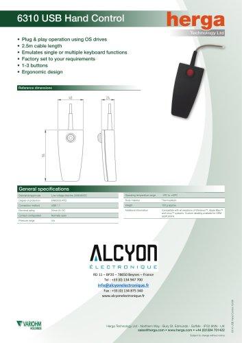 6310 USB Hand Control
