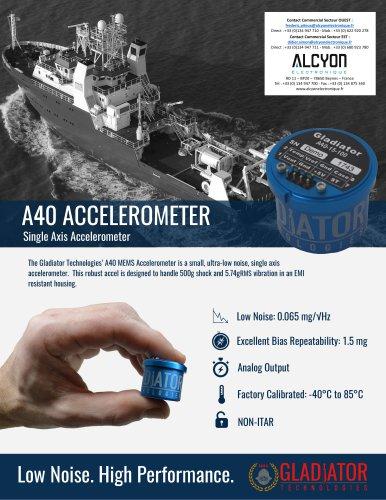 A40 ACCELEROMETER