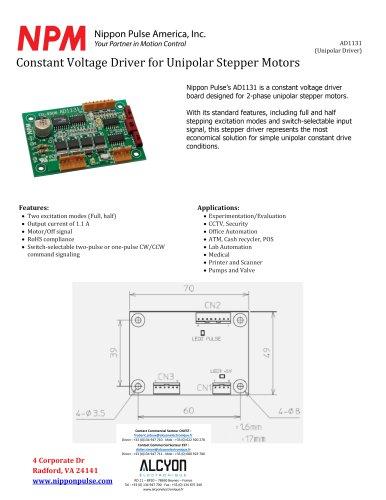 DRIVER Stepper Motors AD1131