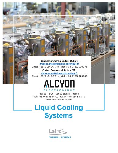 LAIRD LCS Liquid-Cooling-Systems-Catalog (ALCYON Electronique 01 30 94 77 00)