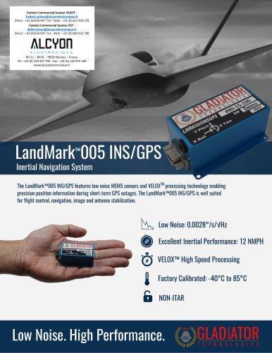 LandMark™005 INS/GPS