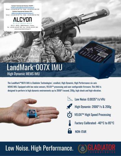 LandMark™007X IMU