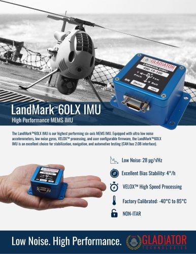 LandMark™60LX IMU