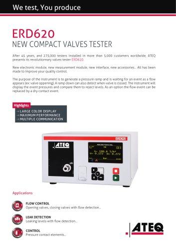 Valve tester   ERD 620