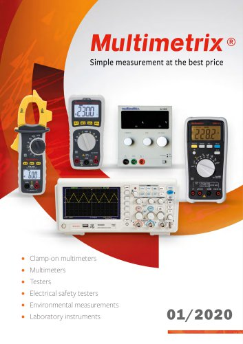 2020 Multimetrix  Catalogue
