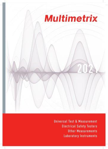 Catalogue Multimetrix 2021