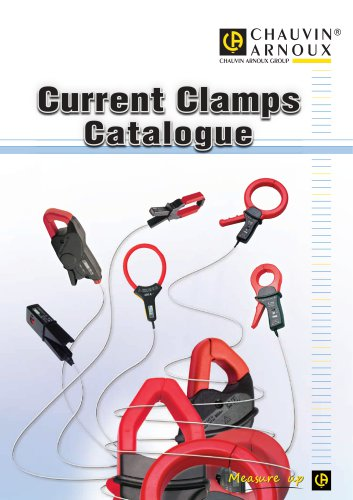 Current Clamps Catalogue