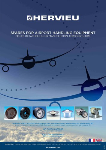 Spares for airport handling equipment