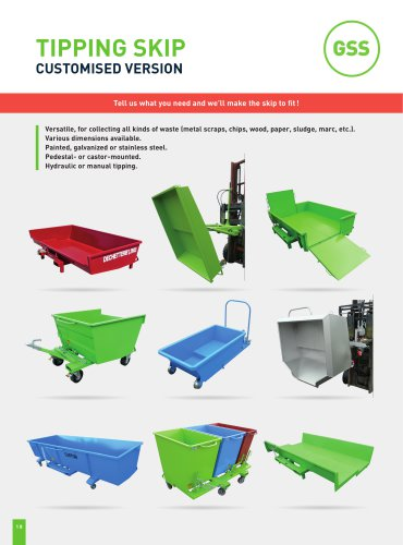 TIPPING SKIP CUSTOMISED VERSION