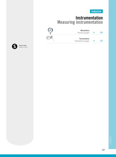 Industry : Measuring Instrumentation