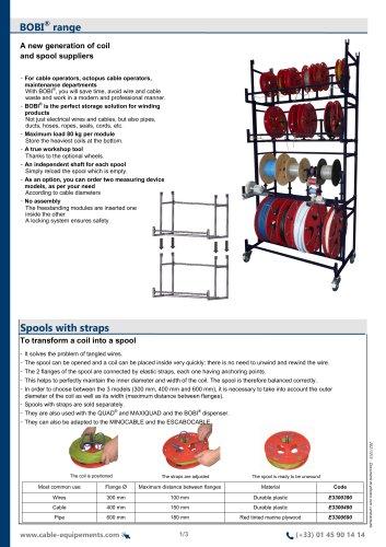 BOBI® Range, Spools with straps
