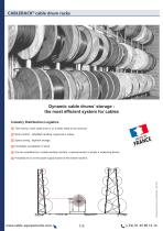 CABLERACK cable drum racks