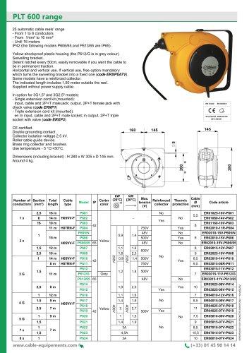 PLT 600 Range